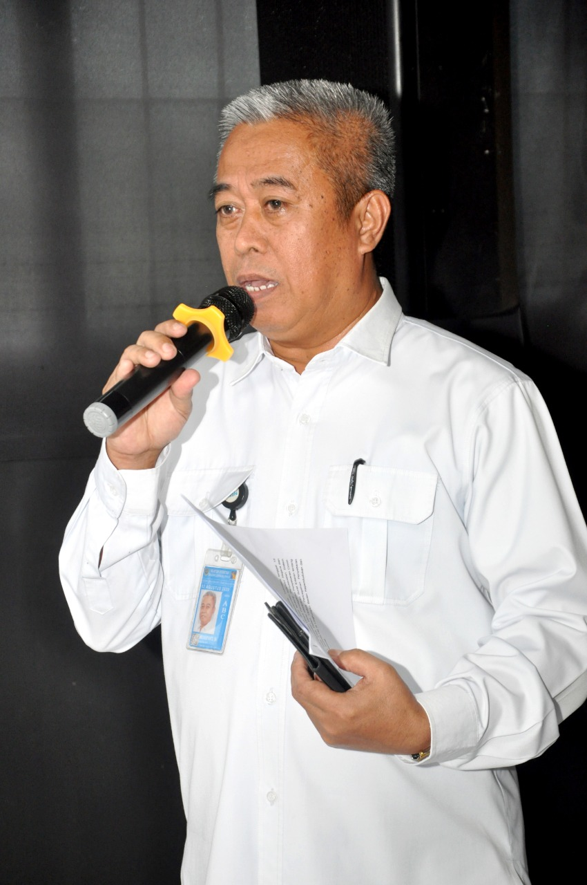 Kepala Perwakilan BKKBN Provins Kepri, Mediheryanto tengah memberikan keterangan